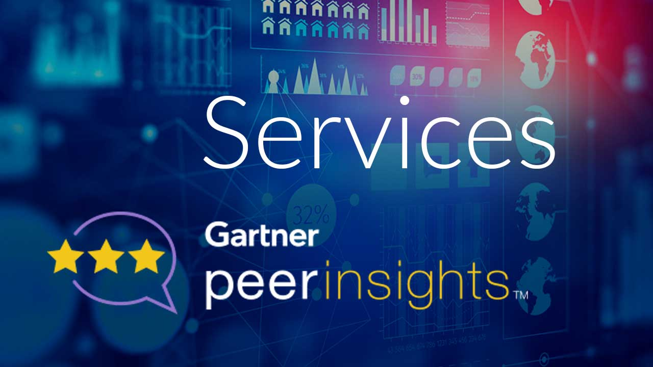 Gartner peerinsight - Services