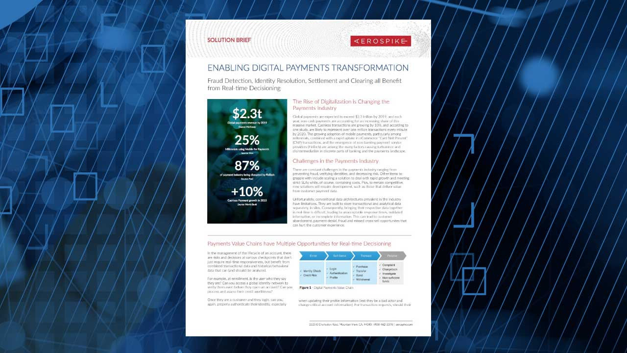 Enabling Digital Payments Transformation