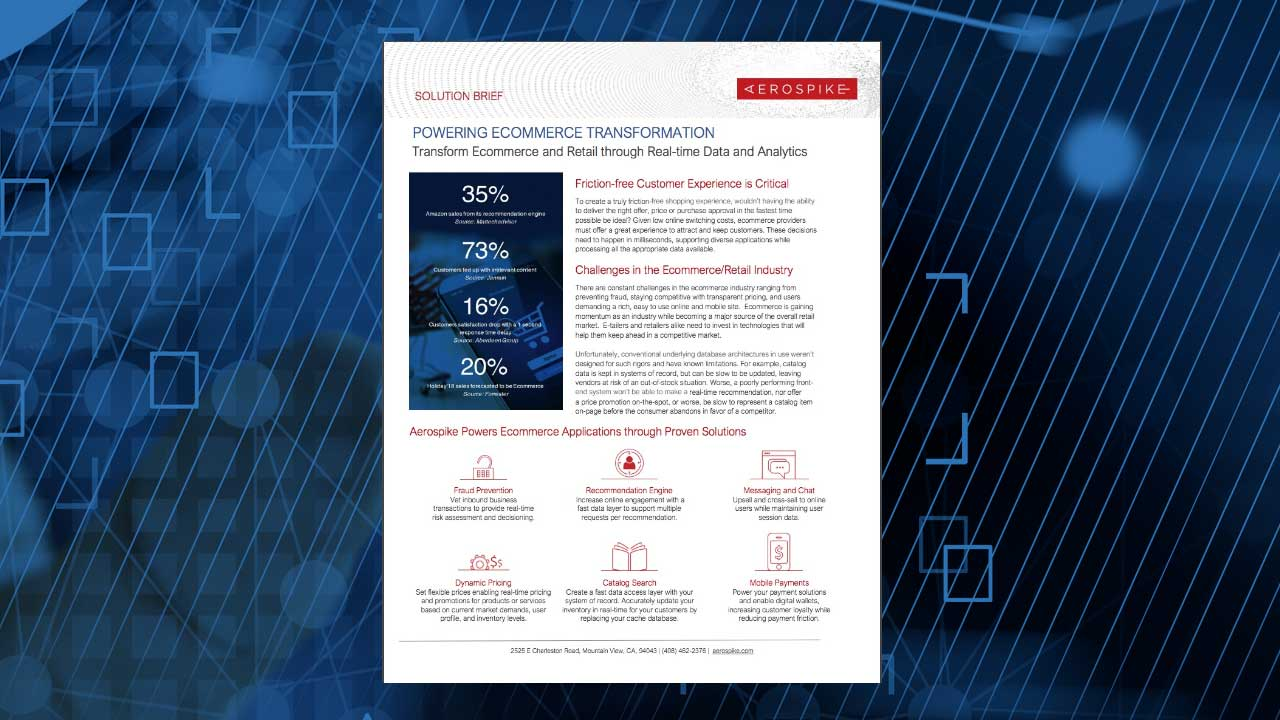 Powering Ecommerce Transformation Solution Brief
