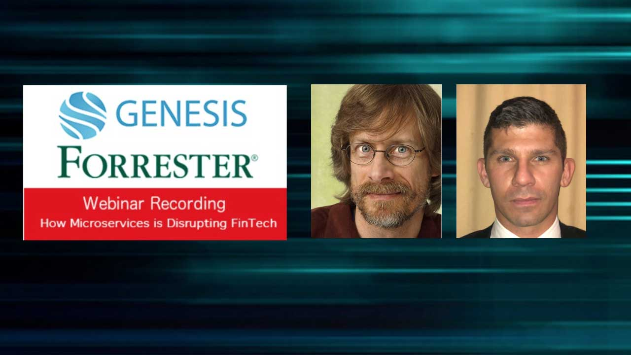 How Microservices is Disrupting FinTech - Webinar Recording
