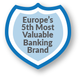 Europe's 5th Most Valuable Banking Brand