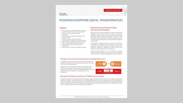 Powering Enterprise Digital Transformation