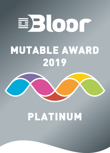 Bloor Mutable Award 2019 Platinum