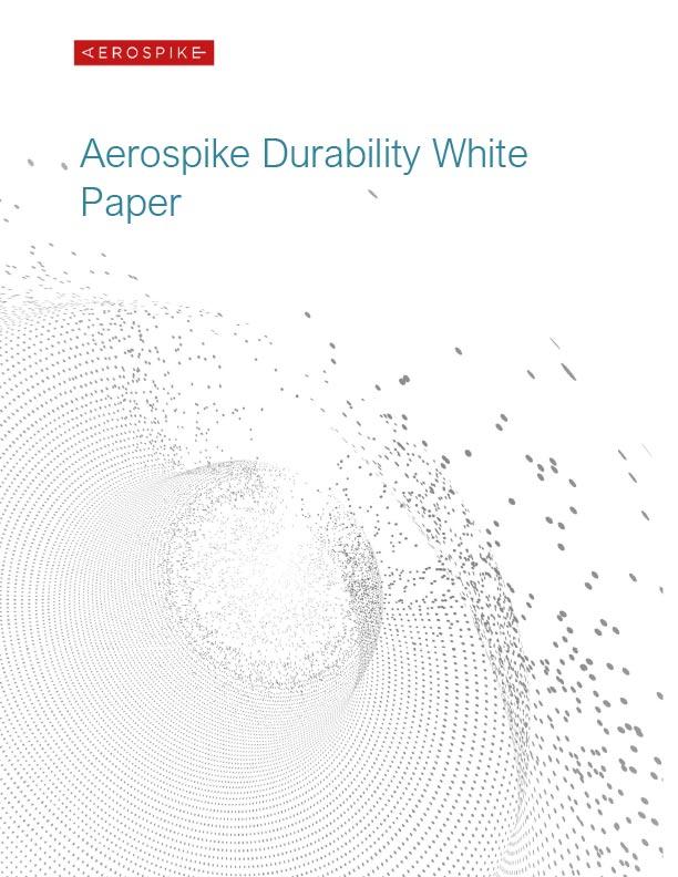 Aerospike Durability White Paper