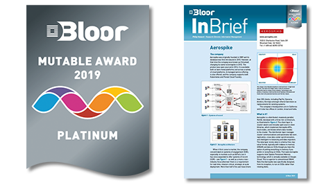 Bloor Mutable Award 2019 and InBrief
