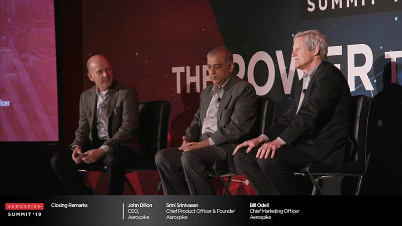Summit '19 - Aerospike: Closing Remarks