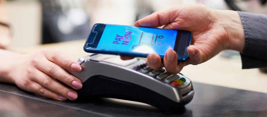 Paying with a smartphone - Digital wallet