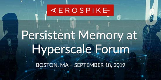 Persistent Memory at Hyperscale Forum - Boston