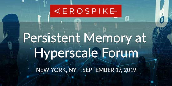 Persistent Memory at Hyperscale Forum - New York