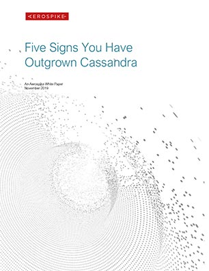 Five Signs You Have Outgrown Cassandra
