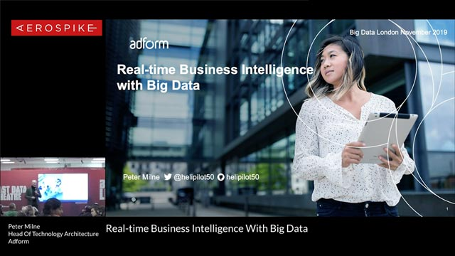 Real-time Business Intelligence with Big Data