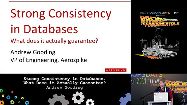 Strong Consistency in Databases. What does it actually guarantee? - Andrew Gooding