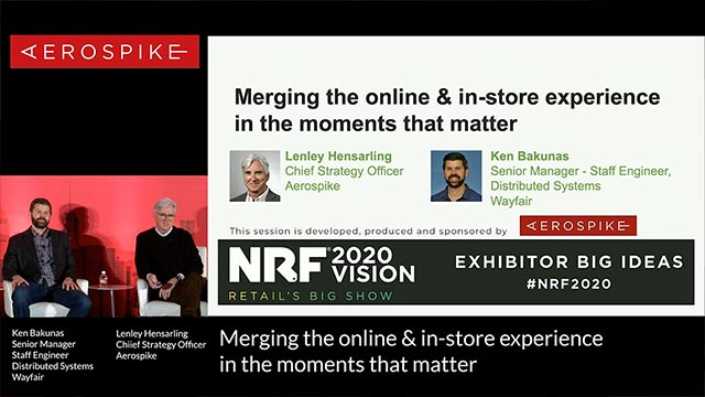 Merging the online and in-store experience in the moments that matter