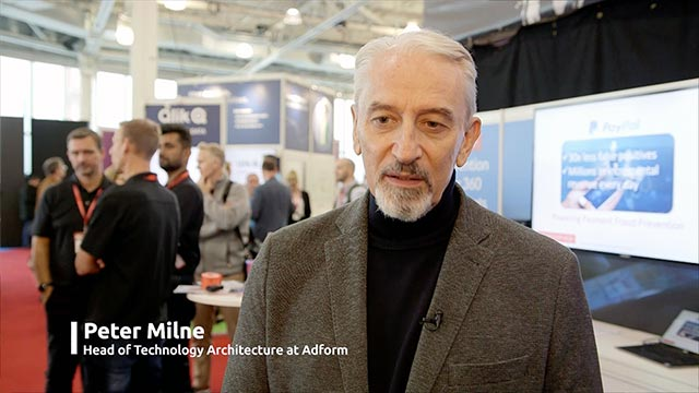 Peter Milne Adform Testimonial at Big Data London
