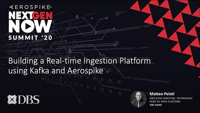 Building a Real-time Ingestion Platform using Kafka and Aerospike