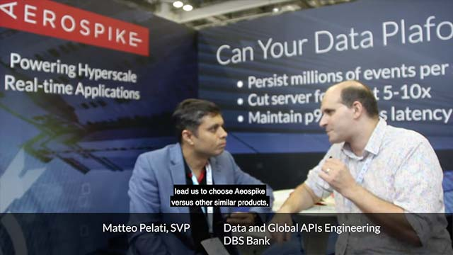 DBS Bank Interview on Building a Global Banking API platform using Kafka, RPC and Aerospike