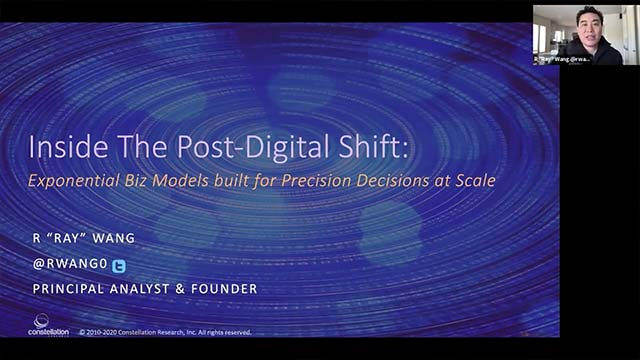 Post-Digital Shift: Exponential Business Models for Precision Decisions at Scale