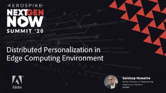 Adobe: Distributed Personalization in Edge Computing Environment