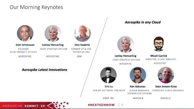 Aerospike Latest Innovations