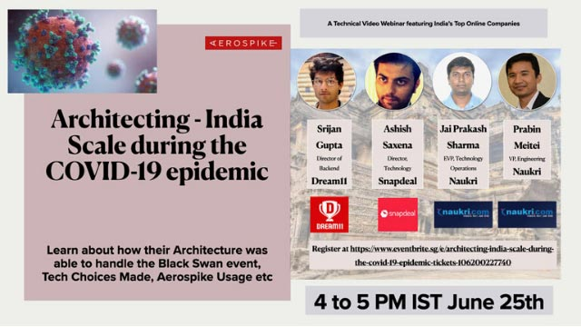 Architecting India: Scale during the COVID-19 epidemic