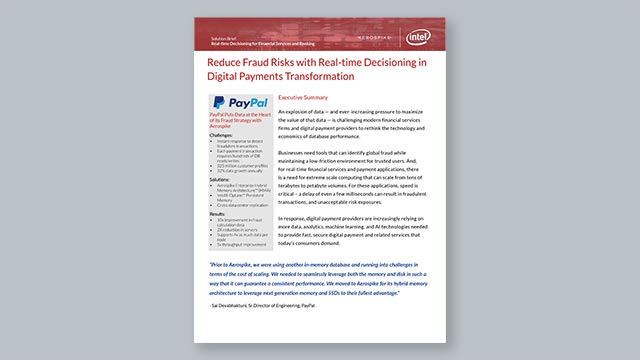 Reduce Fraud Risks with Real-time Decisioning in Digital Payments Transformation