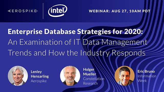 Enterprise Database Strategies for 2020