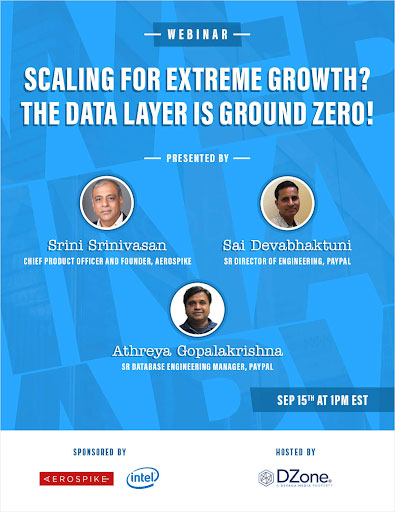 Scaling for Extreme Growth? The Data Layer is Ground Zero!