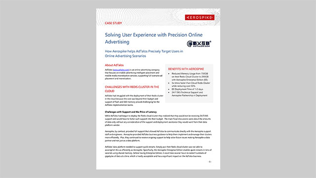 AdTalos Case Study - Solving User Experience with Precision Online Advertising