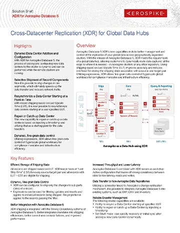 XDR Solution Brief