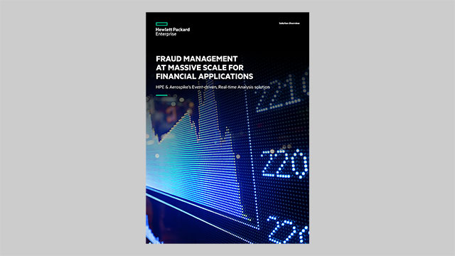 Fraud Management at Massive Scale for Financial Applications