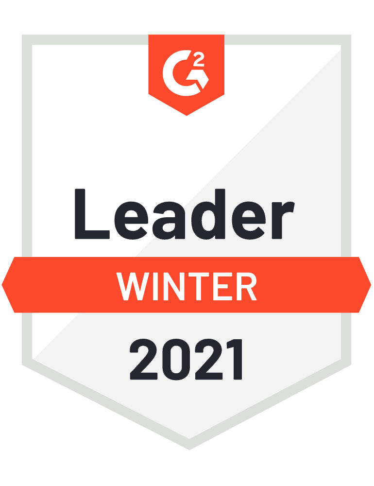 G2 Winter 2021 Leader Medal