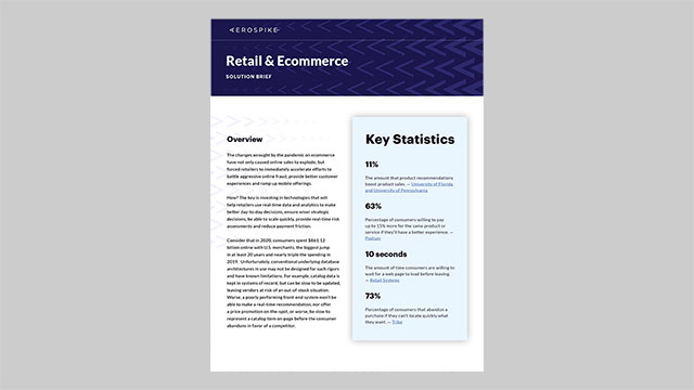 Retail and Ecommerce Solution Brief